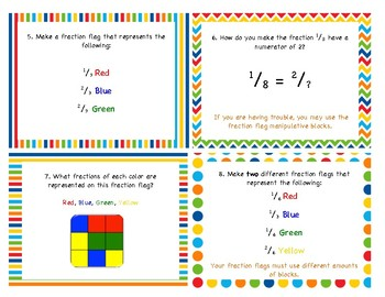 Finding Fraction Flags Activity