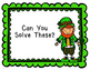 Finding Fractions of a Set_St. Patrick's Day Theme with Leprechauns