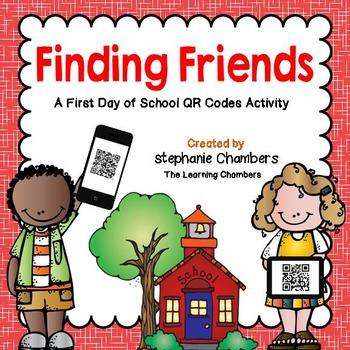 Finding Friends: First Day of School QR Scavenger Hunt