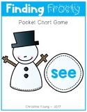 Finding Frosty - Pocket Chart Game