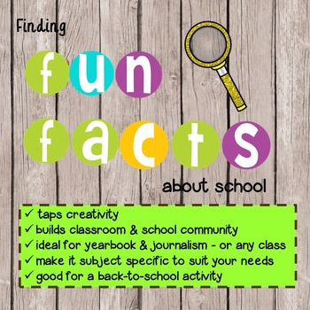 Finding Fun Facts About School