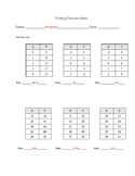Finding Function Rules Worksheet