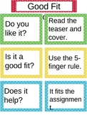 Finding Good Fit Books Using the Five-Finger Rule