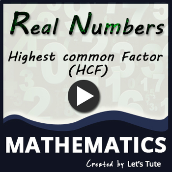Finding HCF using Euclid's Division Lemma in real numbers