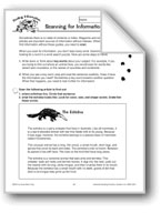 Finding Information: Scanning for Information