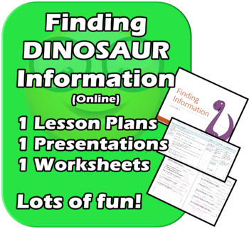 Finding Information - Searching Online Encyclopedias - Fun, Elementary Unit