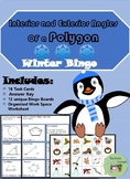 Interior and Exterior Angles in Polygons Bingo