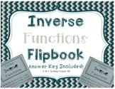 Finding Inverse Functions Flipbook