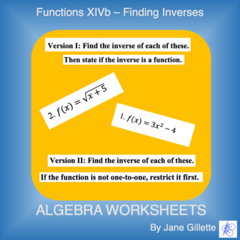 Finding Inverses