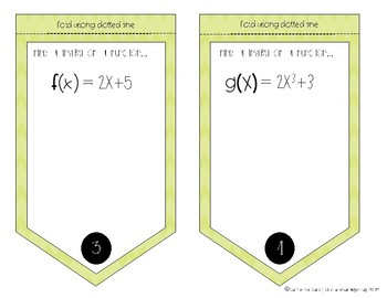 Finding Inverses of Functions Flag Banner Activity