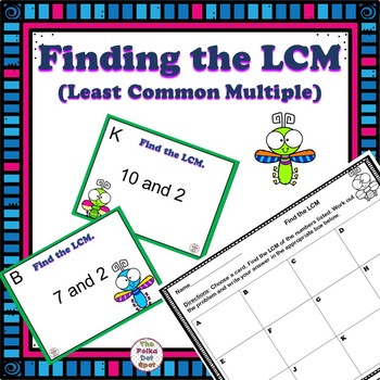 Finding LCM- Least Common Multiple Center