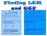 Finding LCM nd GCF