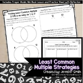 Finding Least Common Multiple - Interactive Notebook Lesson