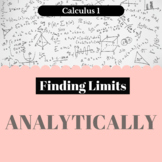 Finding Limits - Analytically - Worksheet