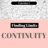 Finding Limits - Continuity - Worksheet