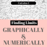Finding Limits - Graphically & Numerically - Worksheet