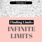 Finding Limits - Infinite Limits - Worksheet