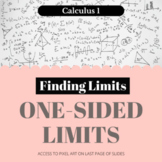 Finding Limits - One-sided Limits - Worksheet