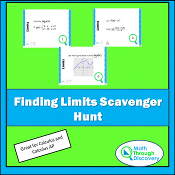 Finding Limits Scavenger Hunt