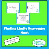 Finding Limits Scavenger Hunt