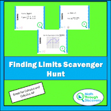 Calculus - Finding Limits Scavenger Hunt