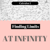 Finding Limits - at Infinity - Worksheet