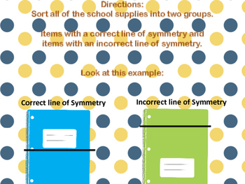 Finding Lines of Symmerty