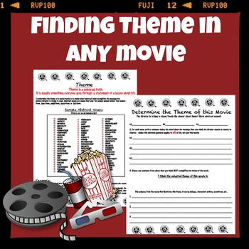 Finding Literary Theme in any movie