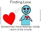 Finding Love- A Social Story with Comp Questions for Autism Units & Early Elem.