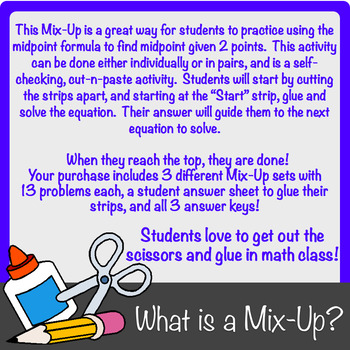 Finding Midpoint (of a line segment) Mix-Up!