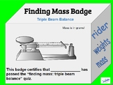 Finding Mass Badge and Quiz