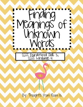 Finding Meanings of Unknown Words