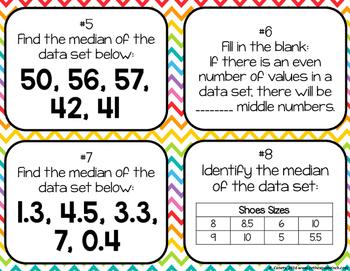Finding Median Task Cards