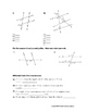Finding Missing Angles Worksheet