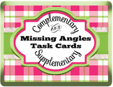 Finding Missing Angles in Complementary and Supplementary Adjacent Angles