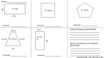 Finding Missing Length