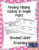 Finding Missing Values in Angle Pairs