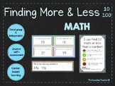 Finding More & Less (10/100) - 4 NO PREP Centers - Independent & Small Group