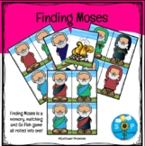 Finding Moses Matching / Memory / Go Fish Game
