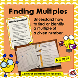 Create an Interactive Flip Book to Illustrate Multiples