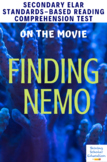 Finding Nemo (2003) Movie Multiple-Choice Analysis & Comprehension Test