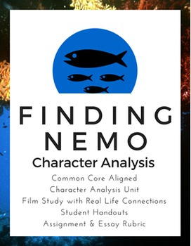 Finding Nemo Character Analysis Essay