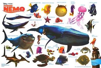Finding Nemo Character Matching