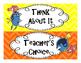 Finding Nemo/ Dory Behavior Clip Chart