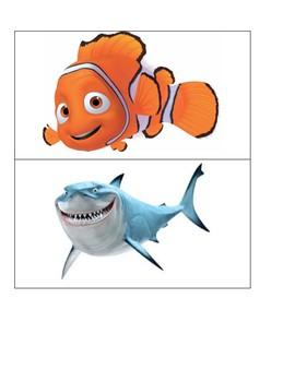 Finding Nemo & Dory Door Decorations