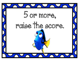 Finding Nemo/Dory Rounding Posters Math Wall