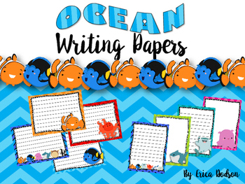 Finding Nemo/Dory Writing Papers