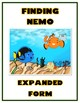 Finding Nemo Expanded Form Math File Folder Game Place Value Tens & Ones