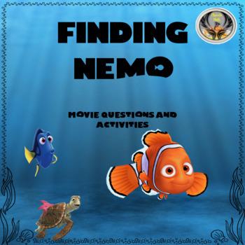 Finding Nemo Math Movie Activities