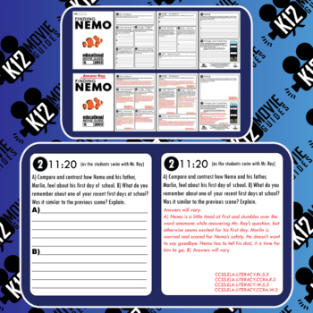 Finding Nemo Movie Viewing Guide (G - 2003)